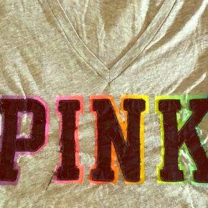 VS PINK TEE - MEDIUM